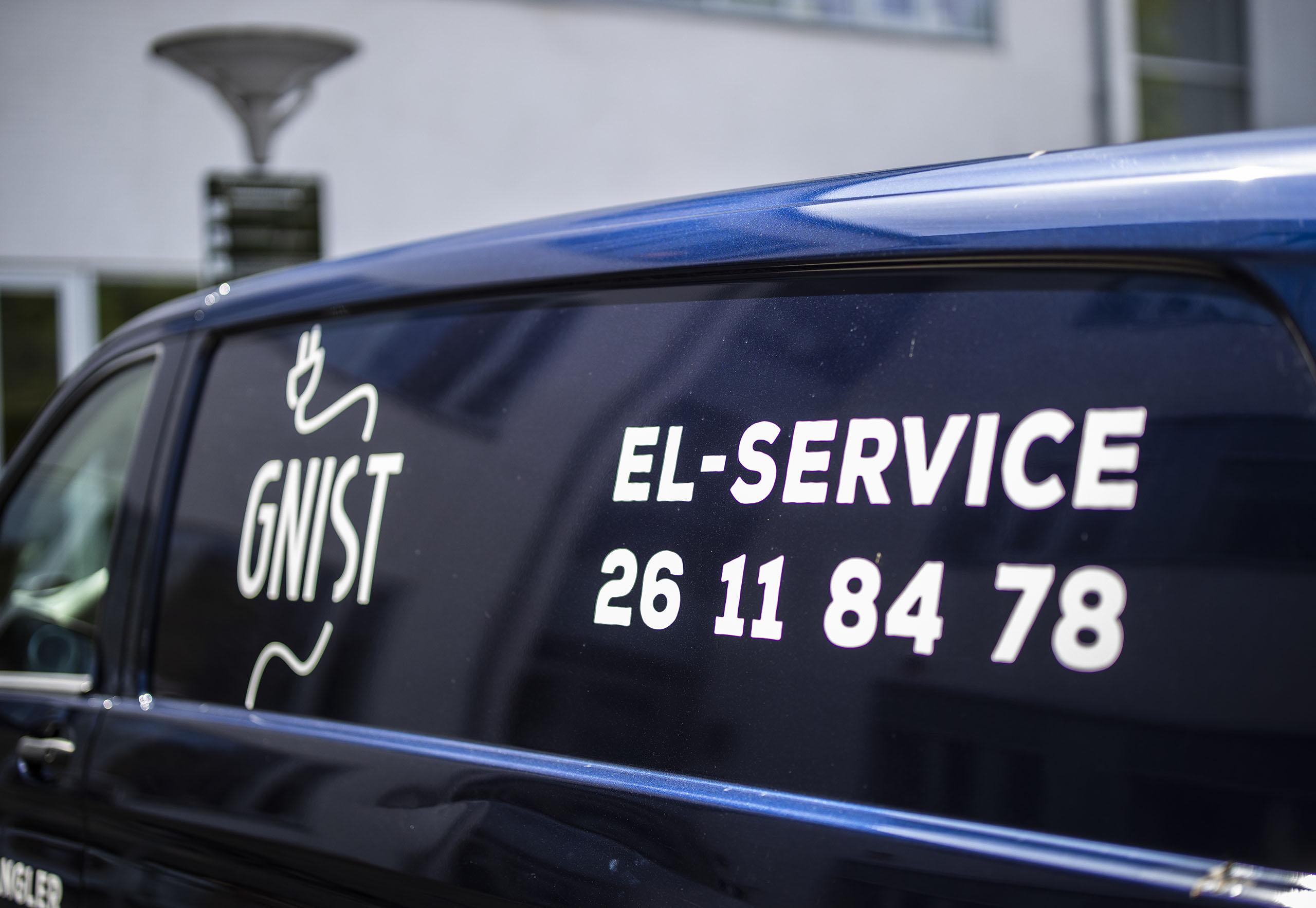 El service og serviceaftaler